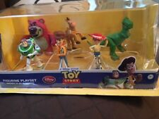 DISNEY STORE Pixar TOY STORY, 6 Piece Figurine Playset cake toppers *NIB