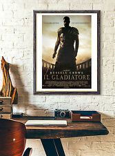 Movie Poster Gladiator 35x50 cm - Russell Crowe - Il Gladiatore