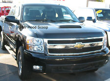 1999-2013 Hood Scoop for Chevrolet Silverado By MrHoodScoop UNPAINTED HS009