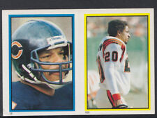 Topps 1984 American Football Sticker No's 163 & 13 - Horton & Moorehead (T511)