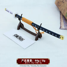 1/5 One Piece Roronoa Zoro TRAFALGAR.LAW Sword katana 10inch Genuine authority