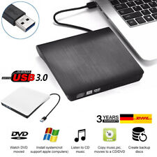 USB 3.0 Externes DVD Laufwerk  Brenner Slim CD DVD-RW Brenner für PC Laptop MAC