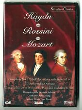 DVD / HAYDN ROSSINI MOZART (MUSIQUE CONCERT) NEUF SOUS BLISTER