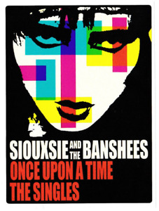 SIOUXSIE & THE BANSHEES VINYL STICKER ONCE UPON A TIME POST PUNK GOTH GOTHIC