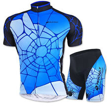 Bike Jersey Gel Pad Shorts Men Cycling Bicycle Sets Wear Short Sleeve Clothing