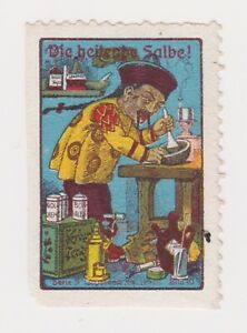 POSTER STAMP CINDERELLAS CHINESE MAN WITH MORTER AND PESTLE