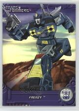 2013 Enterplay Transformers: Optimum Collection G1 Foil #TF13 Frenzy Card 0c3
