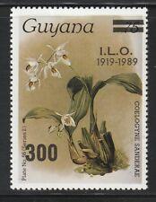 Guyana   1989   Sc # 2044   Orchids, ILO   MNH   (54206)