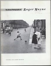 The Street Photographs of Roger Mayne Softcover Book V&A Mus 1986 Morrissey RARE