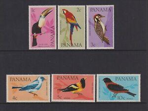 Panama - 1965, Oiseaux Ensemble - MNH - Sg 915/20