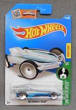 2016 Hot Wheels Car 245/250 HW Formula Solar - International/D Case