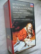 BORIS GODUNOV LLOYD BORODINA ANDREI TARKOVSKY 2 TAPE BOX PAL VHS