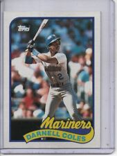 1989 TOPPS #738 DARNELL COLES SEATTLE MARINERS FREE SHIPPING