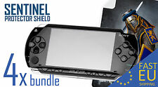 SENTINEL screen protector x4 bundle for PSP 1000 MATTE/CLEAR