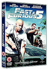 Fast And Furious Five - Rio Heist (DVD, 2011)