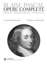 Opere complete. Testi francesi e latini a fronte - [Bompiani]