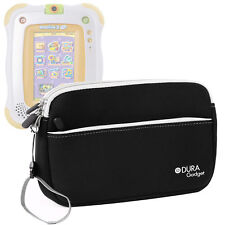 Black Neoprene Case For Use With VTech Innotab 2 Baby With Front Storage Pocket