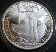 2006 United Kingdom Silver Proof Britannia £2 Britannia Standing In Box Of Issue