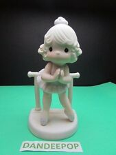 Precious Moments Enesco Lord Keep Me On My Toes 1985 Samuel Butcher 100129
