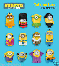 Minions McDonalds 2015 Happy Meal Toys Full set of 12 pcs New Sealed US Release
