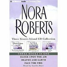Three Sisters CD Island Collection Nora Roberts 3 Books audiobook