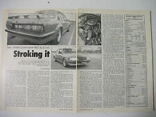 HDT VK COMMODORE SL/E 5.8 LITRE V8 MAGAZINE ROAD TEST
