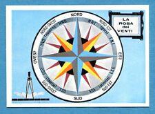 LA TERRA - Panini 1966 - Figurina-Sticker n. 36 - LA ROSA DEI VENTI -Rec