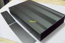 DIY Metal Aluminum Project Enclosure Box Electronic case Black_Big 300x178x50mm