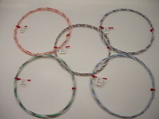 22 AWG Silver Plated PTFE Wire Assortment 50 feet 19 strand audio amplifier