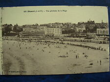 VINTAGE POSTCARD FRANCE DINARD GENERAL VIEW OF BEACH
