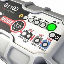 Noco Genius G1100  Battery Charger UK  Motorbike Car Van, 6V / 12v 1.1A Lithium