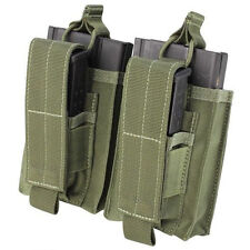 Condor 191040 Double Kangaroo Mag Pouch for 7.62 Rifle & Pistol Mags - OD Green