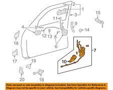 TOYOTA OEM 99-02 4Runner Front Door-Door Lock Kit 6932035500