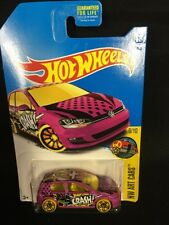 2017 Hot Wheels HW ART CARS 6/10 Volkswagen Golf MK7 16/365 (Pink Version)