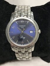 Men's Tissot with Date Indicator Wristwatch Watch Stainless Steel Ring