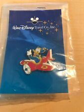 Walt Disney Travel Company Donald Duck In Red Plane Collector Pin New In Package