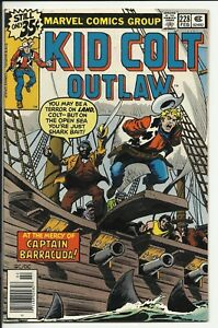 Kid Colt Outlaw #228 - VF/NM 9.0 - Calamity Jane back-up story w/ Tom Sutton art