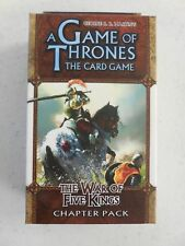Game of Thrones LCG THE WAR OF FIVE KINGS Chapter Pack NEW & SEALED