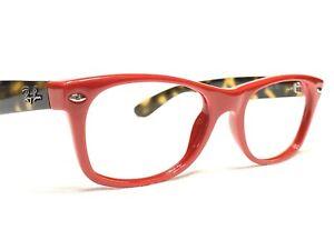 Ray Ban RB2132 New Wayfarer 726 Unisex Red Tortoise Sunglasses Frames 52/18~145