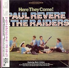 PAUL REVERE & THE RAIDERS - HERE THEY COME!  CD  2005  JAPAN  CBS  PAPER SLEEVE