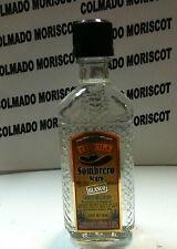 TEQUILA SOMBRERO NEGRO BLANCO 38% 50ml  glass miniatura mignonette minibottle