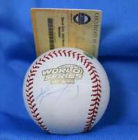 David Ortiz Signed Mlb And Steiner Coa 2004 World Series Baseball  Autograph