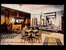 c1910 Temple Grounds, Bureau Of Information, Salt Lake City, UT Vintage Postcard
