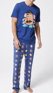 Mens size S Disney Pixar Toy Story MR POTATO HEAD midseason  Pyjamas small  NEW
