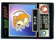 POKEMON MEIJI JAPANESE GLOSSY CARD N° Rattatac Raticate