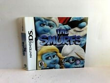 The Smurfs Nintendo DS ARTWORK ONLY Insert Authentic
