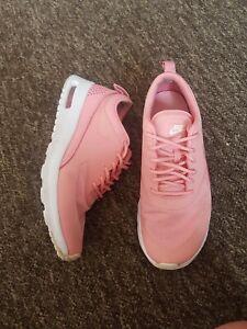 Nike Air Max Thea Size 4 37.5 peach pink salmon colour