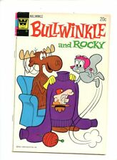 Bullwinkle and Rocky #9 (1973) Gold Key FN 6.0
