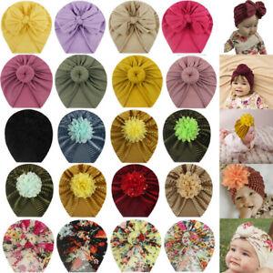 Baby Headband Bow Turban Hat Cap Headband Hair Band Headwear For Girls Kids