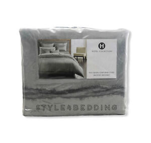 Hotel Collection Muse Gray FULL / QUEEN Duvet Cover BRAND NEW